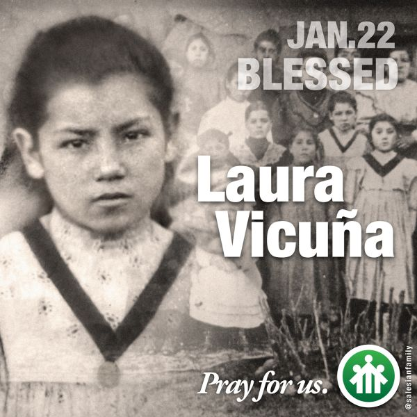 Blessed Laura Vicuña -- Pray for us.