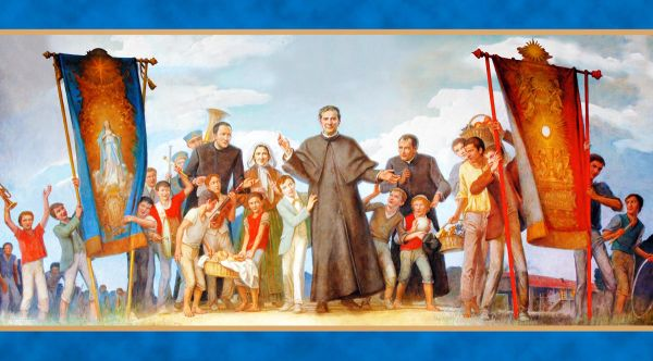 Children on an outing with Don Bosco